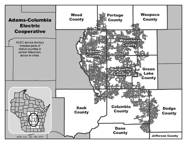 About Us - Adams-Columbia Electric Cooperative