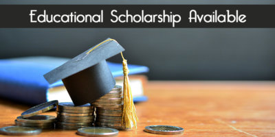 Apply for our scholarship!